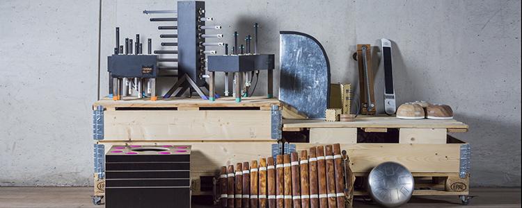 SoundLAB instrumenten (foto Martina Simkovicova)
