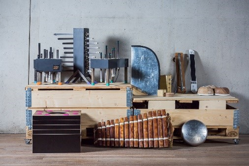 SoundLAB instrumenten (foto Matina Simkovicova)