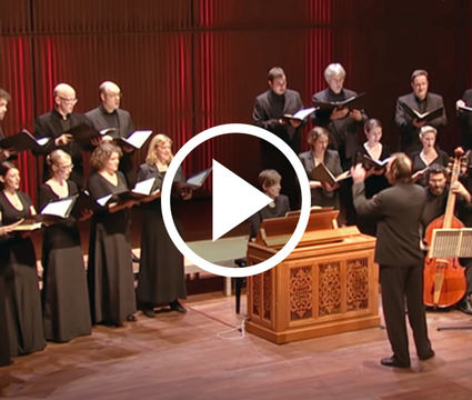 Vocalconsort Berlin: Bach - Motet BWV 225 (jan 2012)