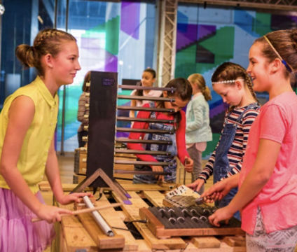 <small>Workshop SoundLAB  ></br>Groep 3 t/m 8</small>